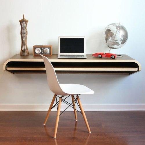 将创意搬进工作中  18个电脑办公桌设计