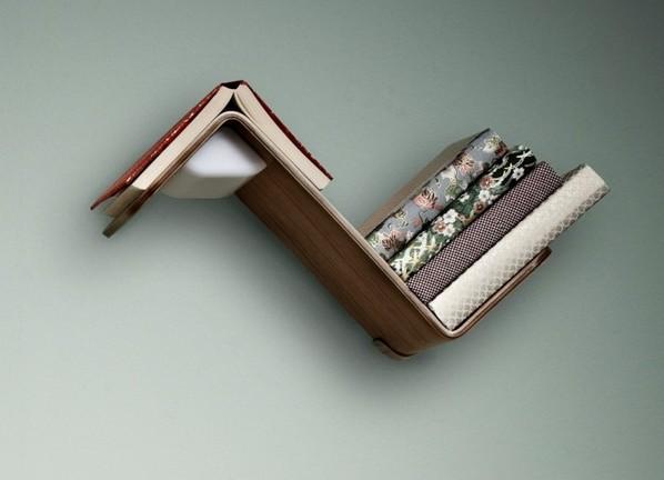 Lili Lite床头灯书架书签 清新设计惬意人生