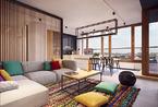 波兰华沙Bielanach的公寓  黑白装饰尽显质感
