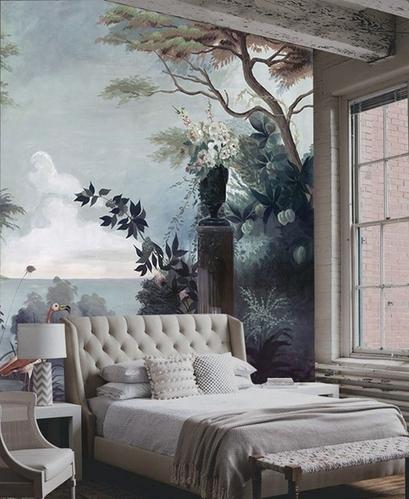 将心中的世界画在家中 个性墙绘打造另类家居