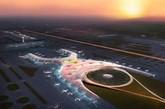 """墨西哥新国际机场将于今年开始动工建设,被称为世界上""""最可持续发展""""的机场。该机场只有一个航站楼,占地面积47万平方米。机场是由英国的Foster+Partners建筑公司和墨西哥的Fernando Romero建筑公司合作设计。(实习编辑:周芝)"""