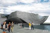 """邓迪(Dundee)是苏格兰第四大城市(在格拉斯哥,爱丁堡和阿伯丁之后),泰河(Tay River)从市南流淌而过,距入海口(北海)仅十公里。而就在这泰河之滨的earl grey港口即将拟建苏格兰文化设计中心""""V&A at dundee""""。2010年隈研吾(kengo kuma)建筑事务所从六家(REX,kengo kuma,delugan meissl,snøhetta和 sutherland hussey)入围者中脱颖而出赢得竞赛。最初预计此博物馆花费4500万英镑完成,但近期邓迪城市委员会透露该项目因为通货膨胀、市场状况等原因要花费近8000万英镑。主设计师隈研吾也倍感惊讶,不过邓迪城市委员会仍非常愿意支持该项目。项目预期2006年底完成,2018年开放参观。(实习编辑:周芝)"""