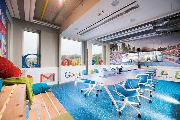 Google的SPA主题办公室设计 干啥都带劲