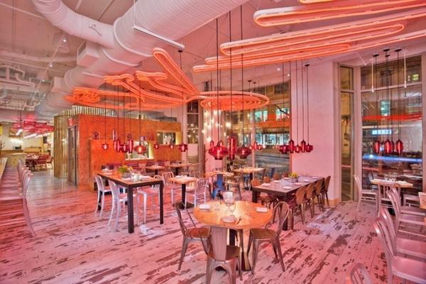 吃什么都梦幻 华盛顿China Chilcano中餐厅室内设计