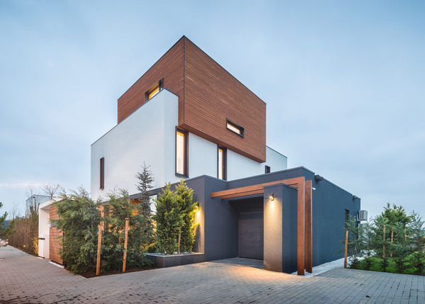 简单生活简单爱  罗马尼亚琥珀花园简约绿色住宅设计