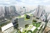"""项目之所以称为""""杭州之角"""",是因为场地位于西湖景观分析区域中划定的城市核心区的最东北角。人们由周边区域进出市中心都会经过场地,极具昭示性。设计首先面临的问题是如何定义一个城市中心区域的边界;同时还面临如何在紧张的用地下设计大体量要求的100米高层,又要对周边住宅的影响降至最小,还需遵守西湖景观分析的要求?"""