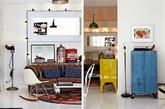 这是一间来自于斯特哥尔摩夫妇Edin Memic Kjellvertz和他太太Lina Thofelt的温馨复古公寓。他们的古董商店Dusty Deco于2011年开业,随后成为古旧物件狂热者和高级室内风格师的圣地。身为店主的他们,在家里囤积了大量的心爱复古物件,经典的现代主义与工业怀旧风格完美地混搭在一起。