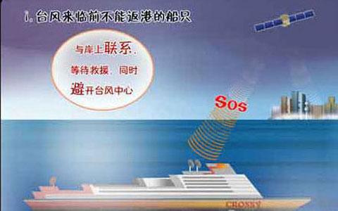 海上船只应对台风方法