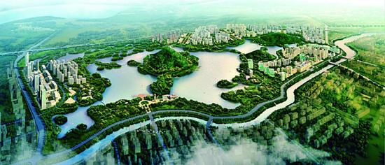 华山片区规划图