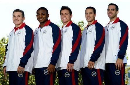 ...会于7月1日上午正式宣布参加伦敦奥运会体操比赛男子5名运动...