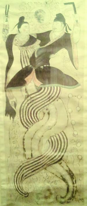 专家称中华民族是 蛇的传人 盘古女娲均是蛇身