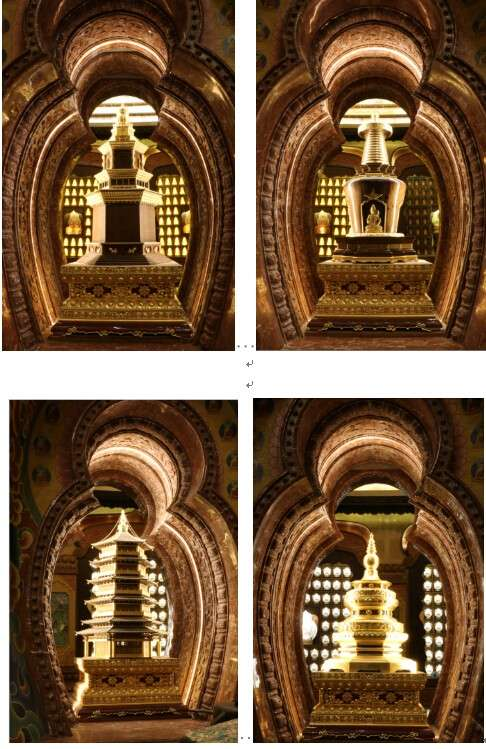 木雕珠联璧合佛塔 东阳木雕应用新探索