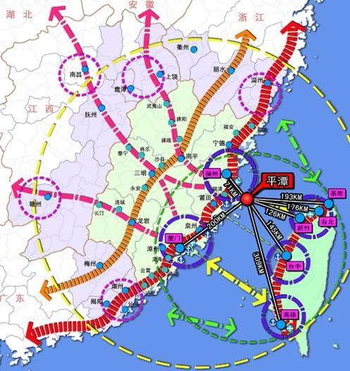 海西经济区规划图