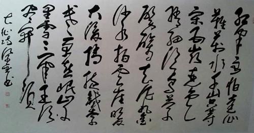 复磊 一位农民书法家的中国梦图片