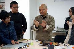 木版水印技艺走进北京联合大学