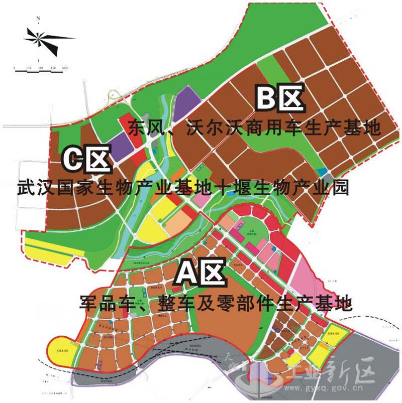 十堰工业新区规划图