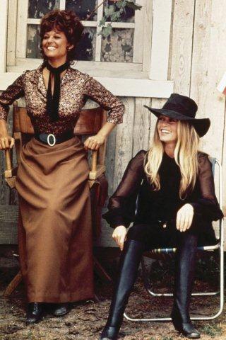 Brigitte & Claudia Cardinale © Leonard de Raemy