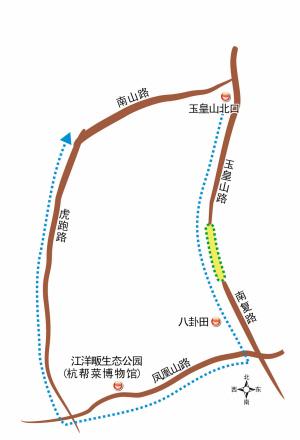 凤凰山路-虎跑路 别错过:玉皇山,南宋博物馆,八卦田,江洋畈生态公园