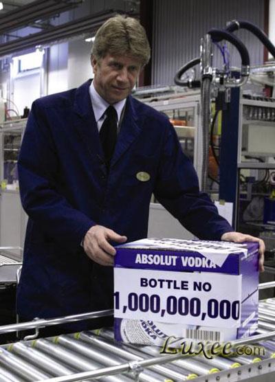 绝对伏特加 ABSOLUT Vodka 全球销量最高高档烈酒品牌...
