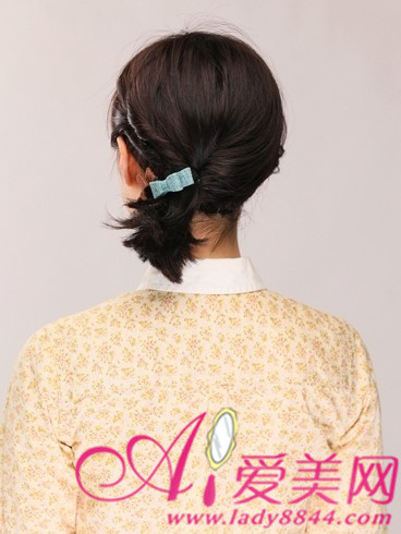 """清新/齐刘海是可爱必备,而短发的小马尾更是可爱的""""必杀""""绝招"""