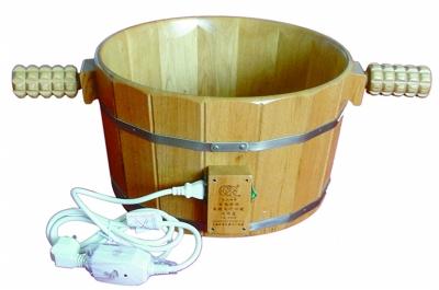电热温控木制足疗保健洗脚盆