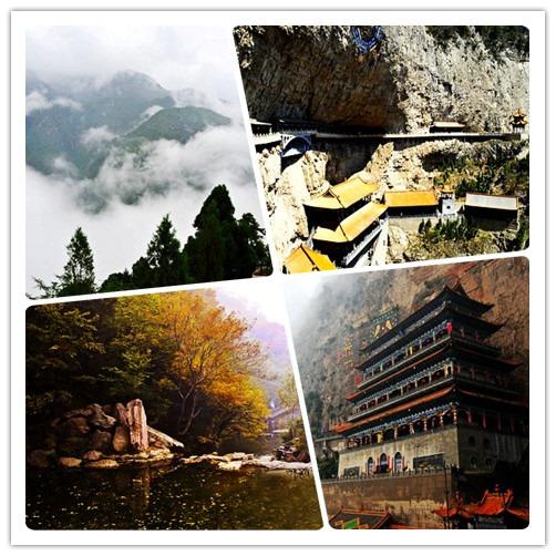 绵山风景(图片来源:微图)