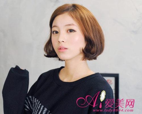 最新韩式短发设计 塑造小清新气息