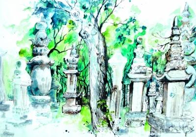 玛后·热纳维耶芙(Geneviève Marot)作品