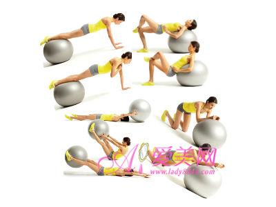 收腹减肥操+注意事项 减肚子赘肉 打造纤腰