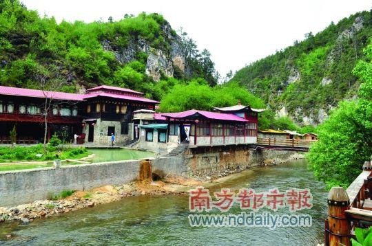 香格里拉天生桥温泉