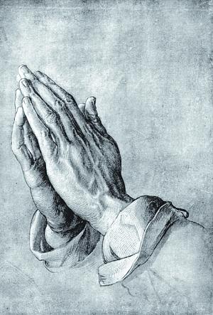 阿尔布雷特·丢勒《祈祷之手》