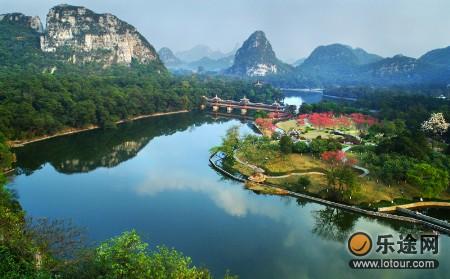 风景区,位于广西柳州市区南部,距市中心3公里,规划面积约544公顷,是一
