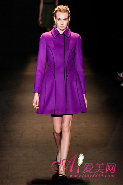 2013秋冬米兰时装周秀场:alberta ferretti fall 2013 ready-to-wear