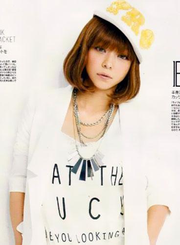 安室奈美惠登杂志 减龄发型葆青春