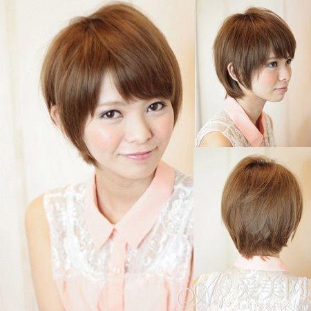 夏日烫染短发发型 个性十足又清爽
