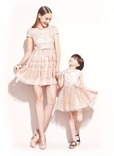 妈妈和宝贝亲子装