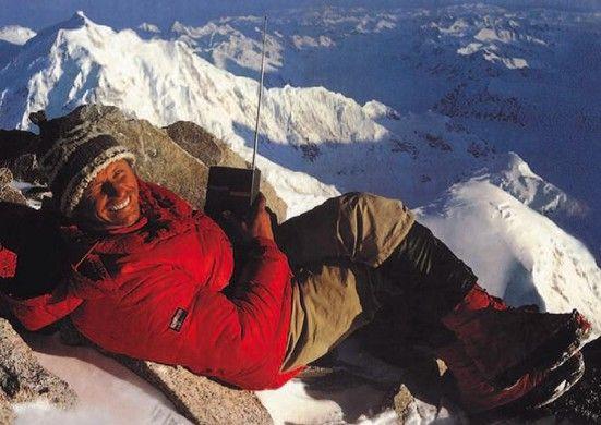 奥地利NORTHLAND品牌创始人Gerwalt Pichler登山照