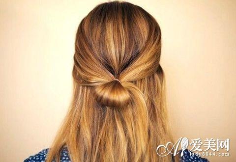 发型新花样 利用头发做出别致造型 发型 头发_凤凰时尚