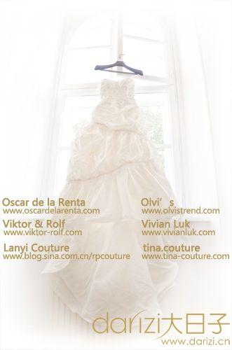 2014最新婚纱礼服趋势发布