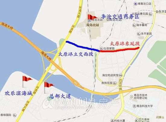 太原路高架桥东延工程-盘点青岛主城交通大规划 深圳路打通工程明年