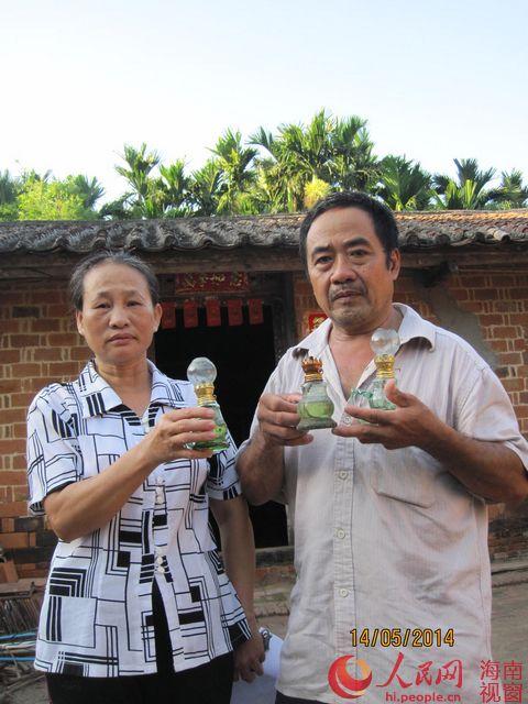 海南万宁兴隆华侨农场农户陈运弟因拒迁被断电断水23年 图