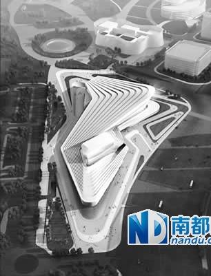 增城市规划局7月初发布的《广州城市副中心(增城)核心区挂绿高清图片