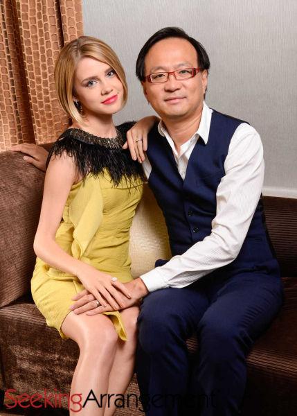 甜心有约创办人韦德与妻子Tanya