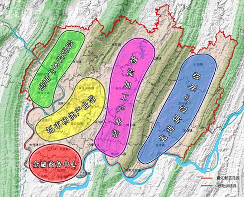 、龙溪、龙山、龙塔、天宫殿、人和等街镇.突出提升中央商务功能、
