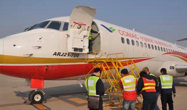 arj21-700飞机105架机开始功能和可靠性试飞