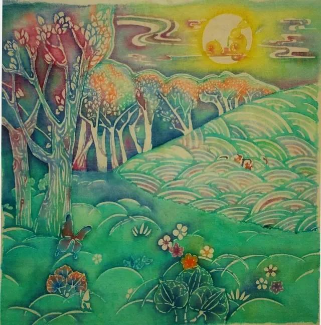 木棉花幼儿美术作品