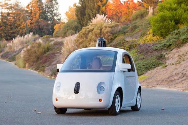 全新Google无人驾驶科技汽车