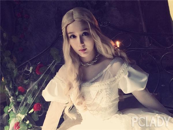 【发型屋】娄艺潇cos童话公主 绵羊卷发美美哒