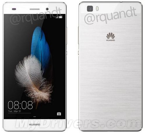 华为新机P8 Lite曝光:超薄机身 酷似iPhone 5