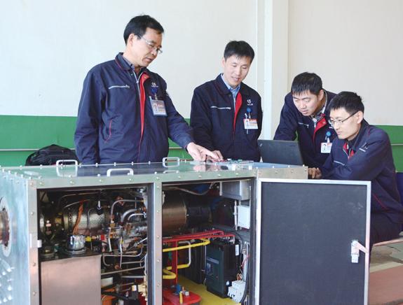 中国首台WD18微型燃气轮机发电机组研制成功